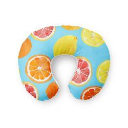 Almofada de Pescoço Frutas Cítricas