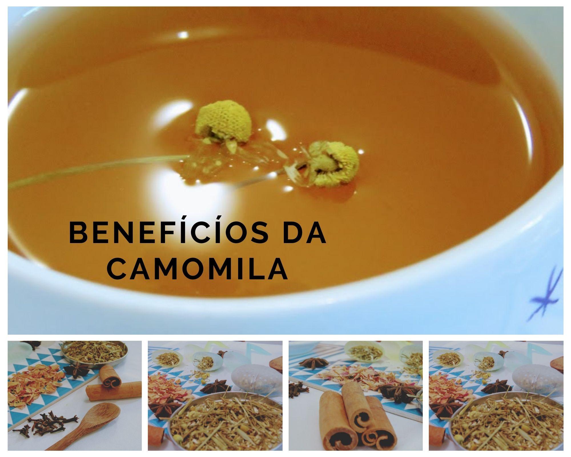 Conheça os incríveis benefícios do chá de camomila