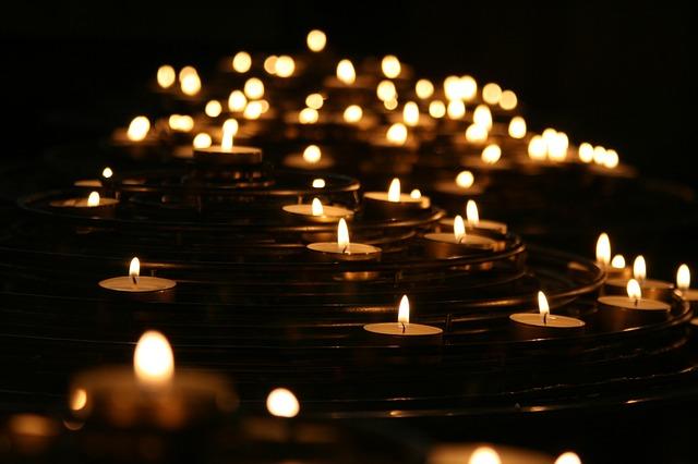 A magia das velas